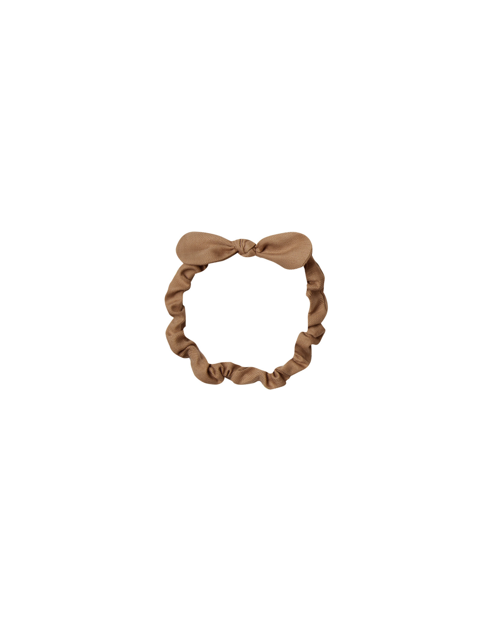 RYLEE AND CRU Baby Bow Headband Caramel