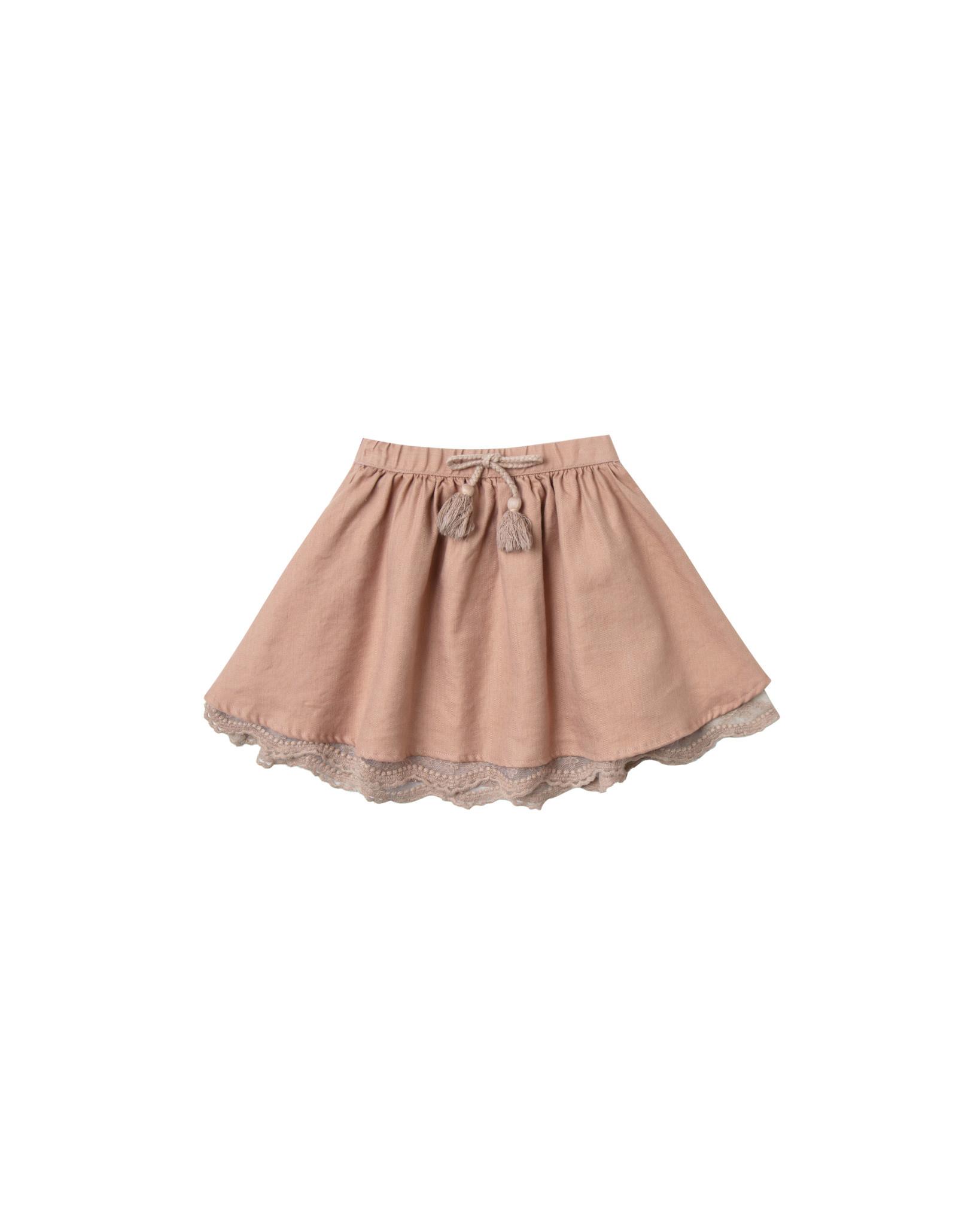 RYLEE AND CRU Mini Skirt