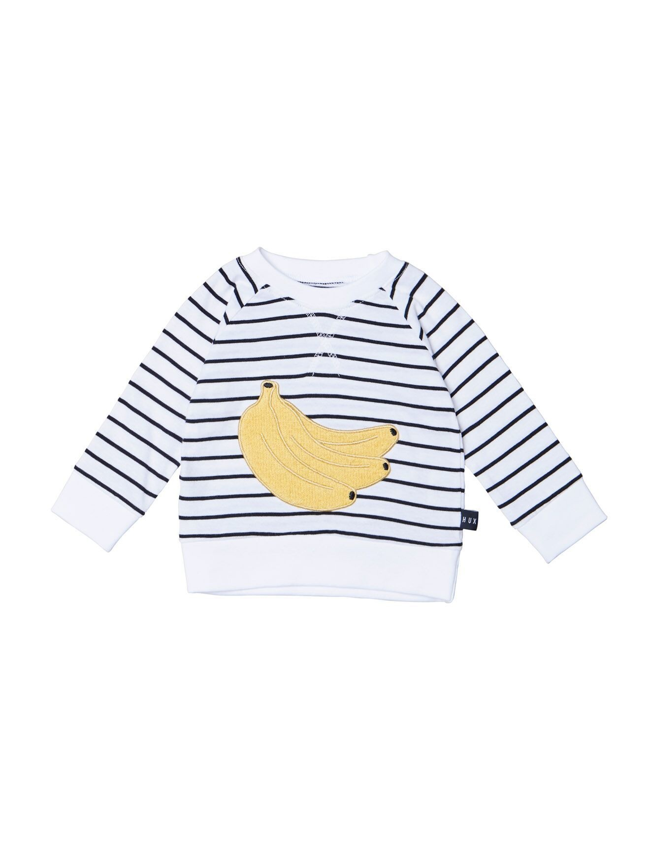 HUX BABY Banana Stripe Sweatshirt