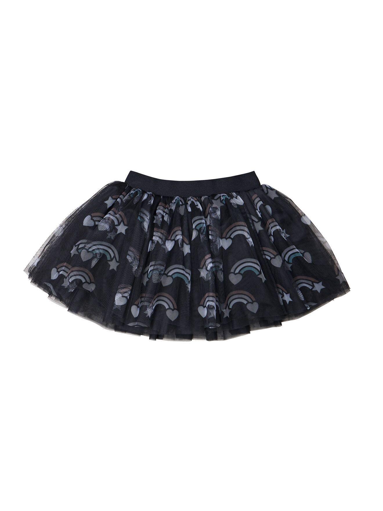 HUX BABY Rainbow Tulle Skirt