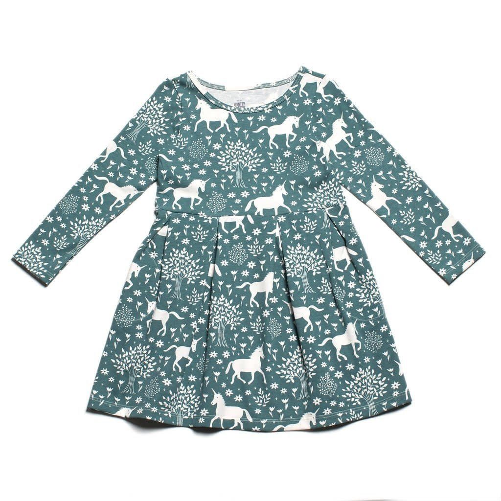 WINTER WATER FACTORY Magical Forest Geneva Baby Dress