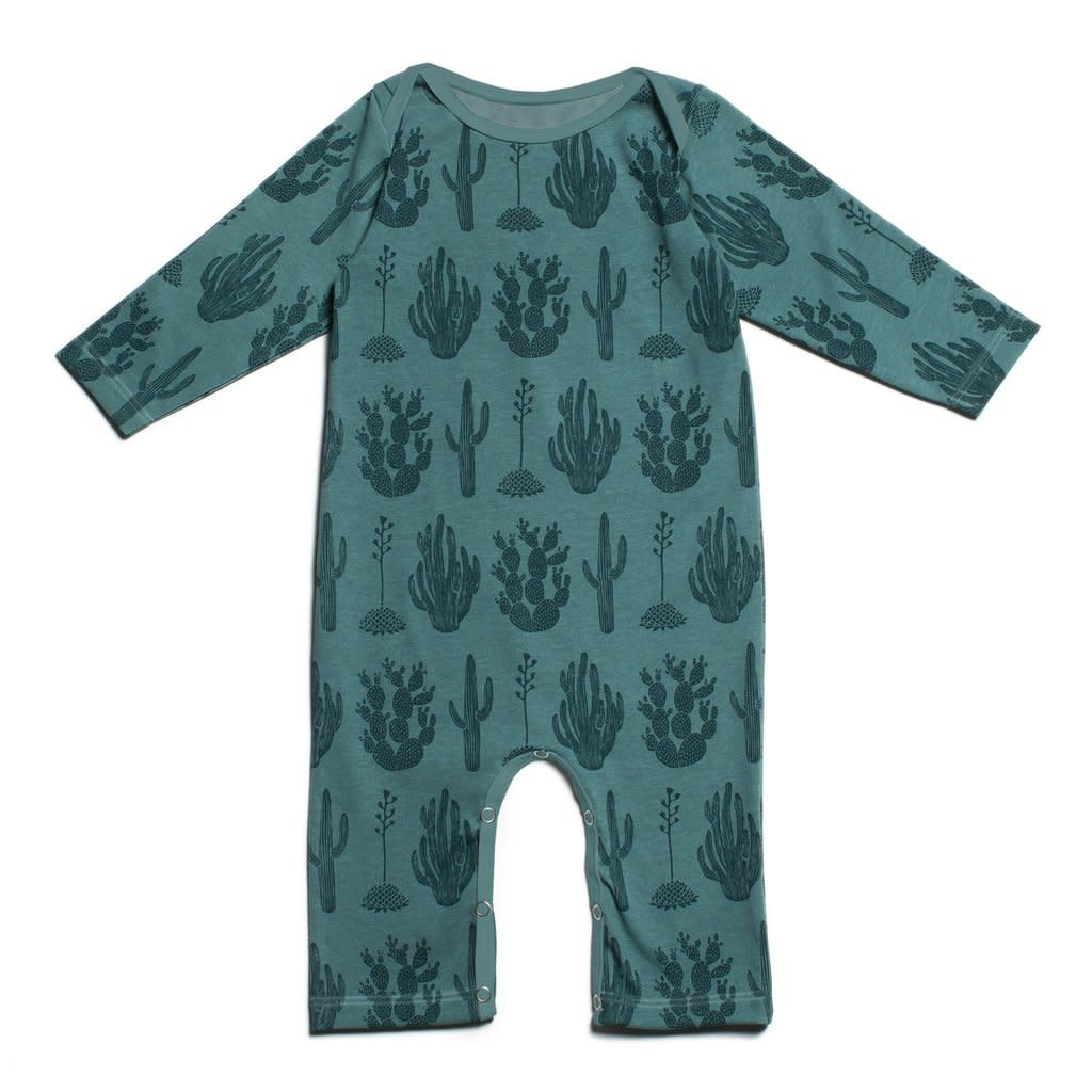 WINTER WATER FACTORY Cactus Long Sleeve Romper