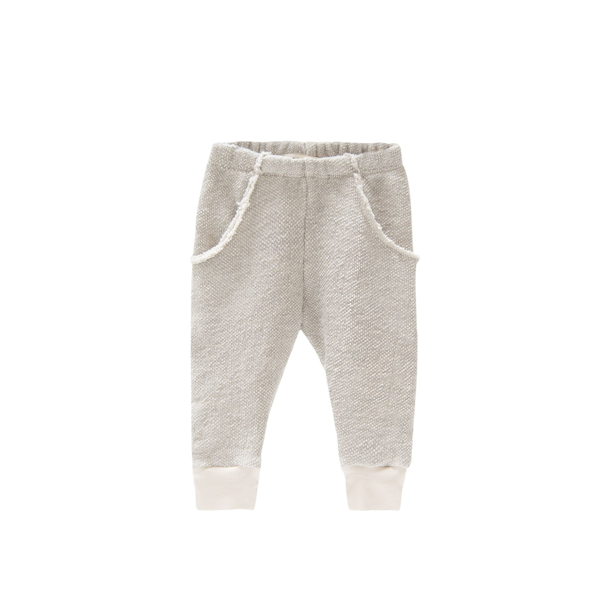 GOGENTLYNATION Textured Raw Pocket Track Pant