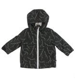KICKEE PANTS Print Sherpa-Lined Raincoat