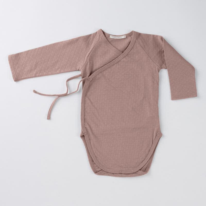 TANE ORGANICS Pointelle Kimono Onesie
