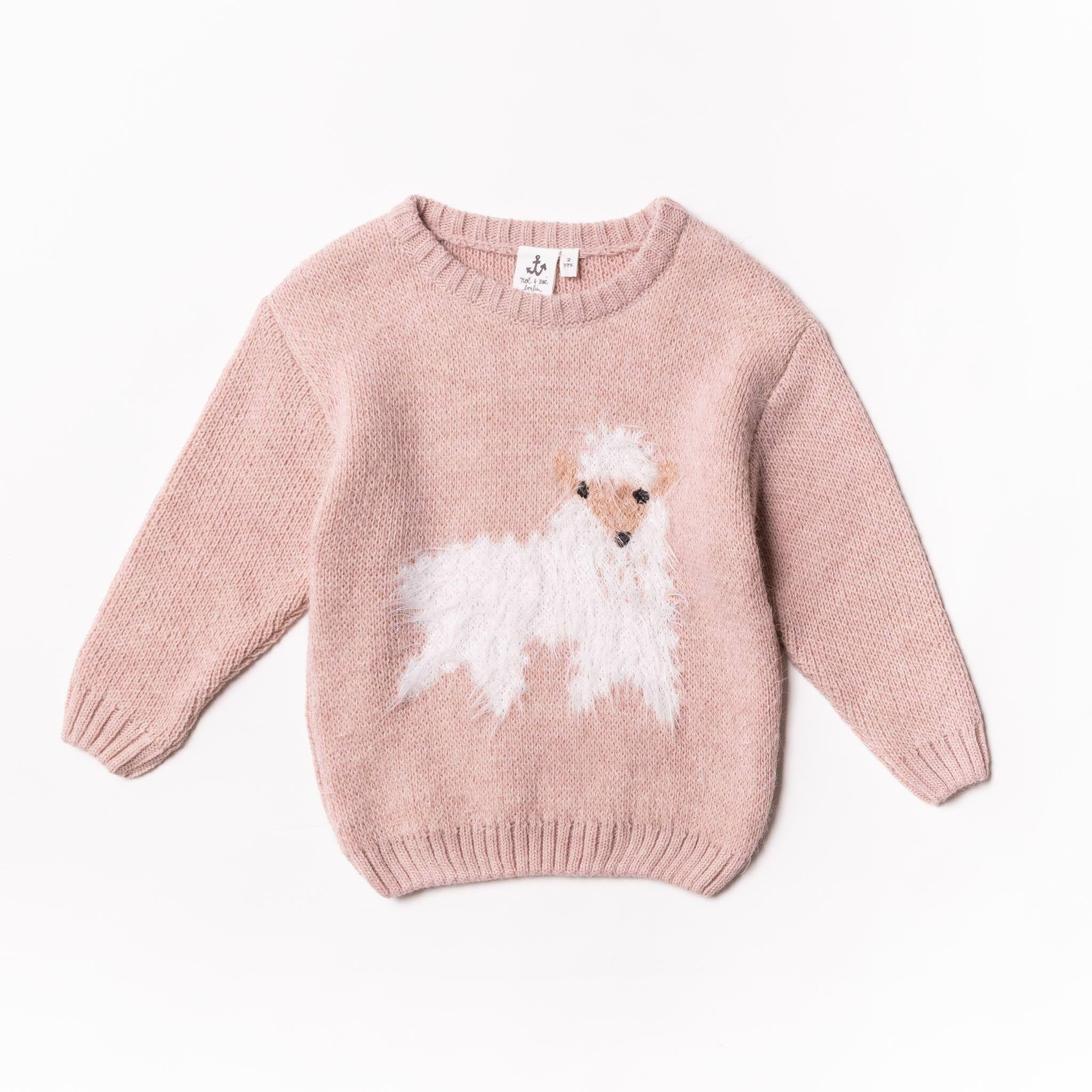 Noe & Zoe Lama Sweater