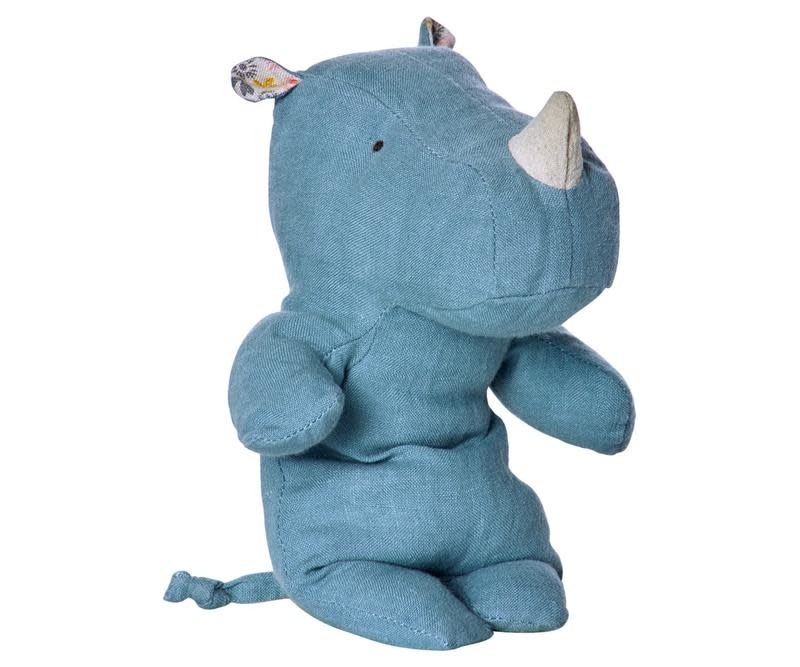 MAILEG Safari Friends Blue Medium Rhino
