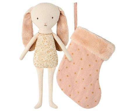 MAILEG Bunny Angel in Stocking