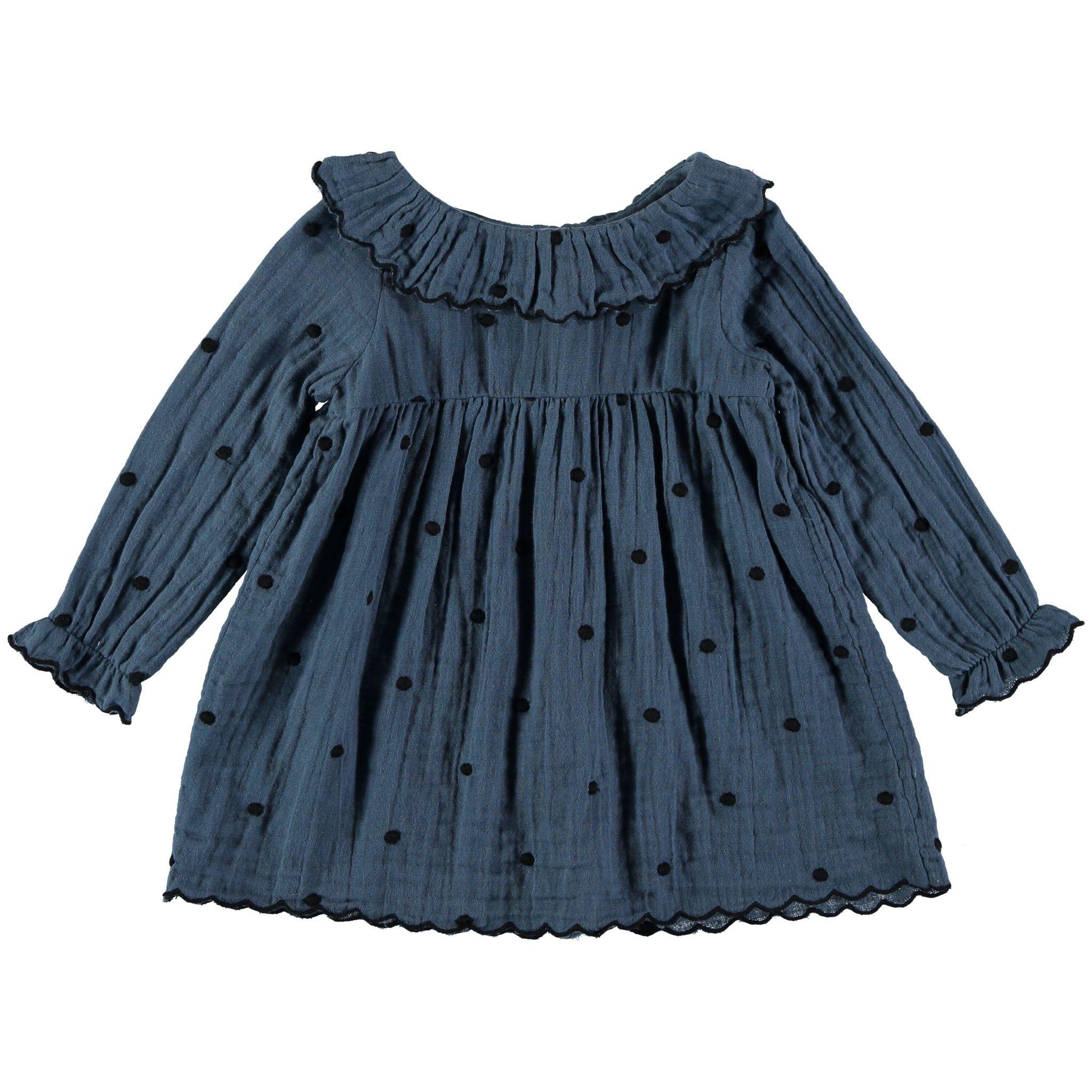 BUHO Noa Embroidery Dots Dress