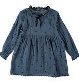 BUHO Elsa Emboridery Dots Dress