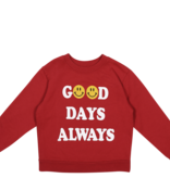 TINY WHALES Boxy Sweatshirt