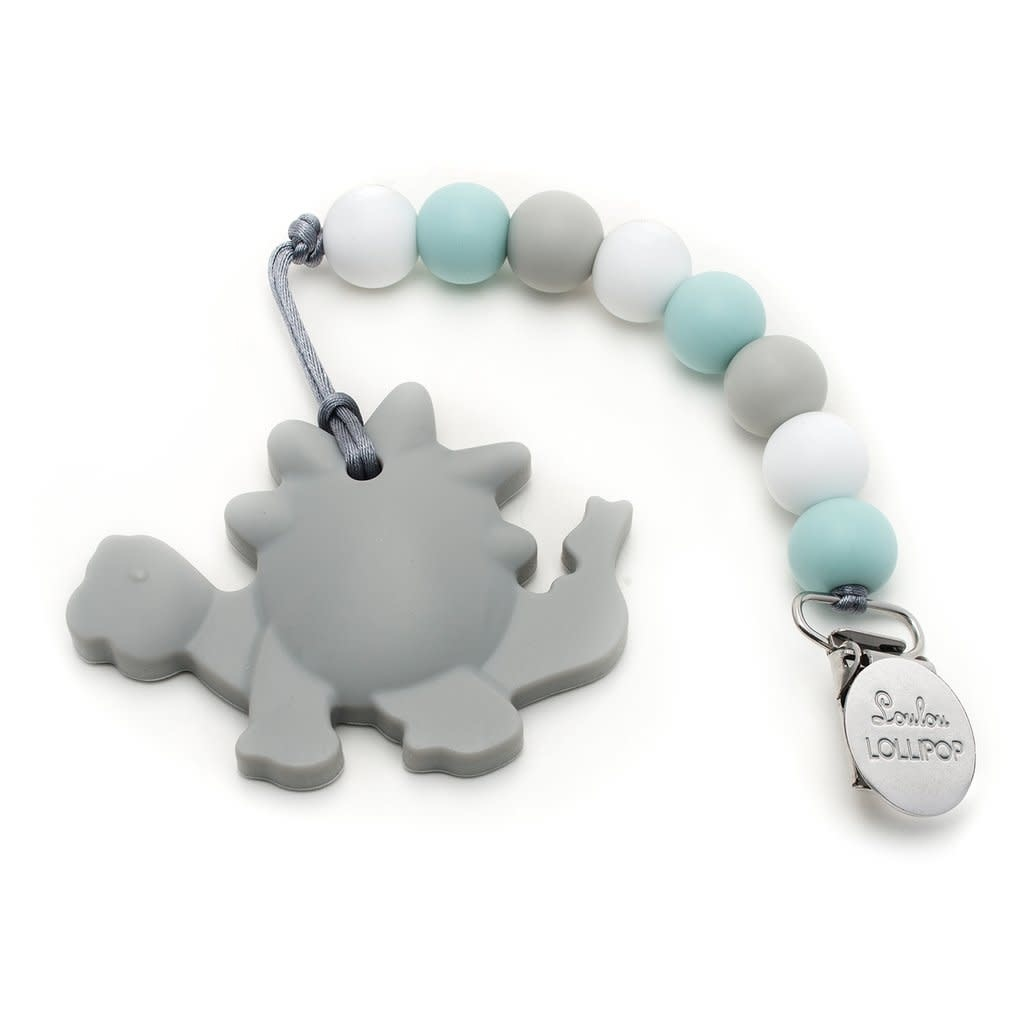 LOULOU LOLLIPOP Silicone Teether Holder Set