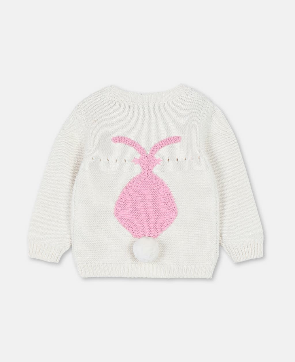 STELLA MCCARTNEY Baby Girl Sweater With Bunny