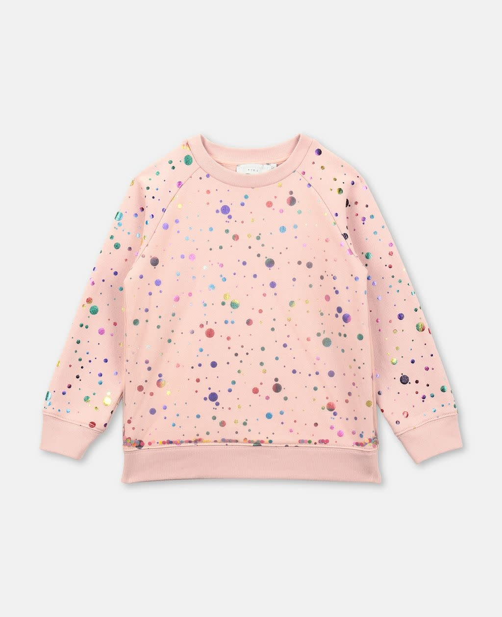 STELLA MCCARTNEY Sequins Tulle Layer Sweatshirt