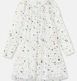 STELLA MCCARTNEY Longsleeve Foil Dots Tulle Dress