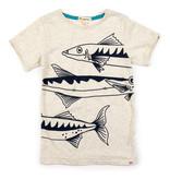 APPAMAN Graphic Short Sleeve Tee Barracuda