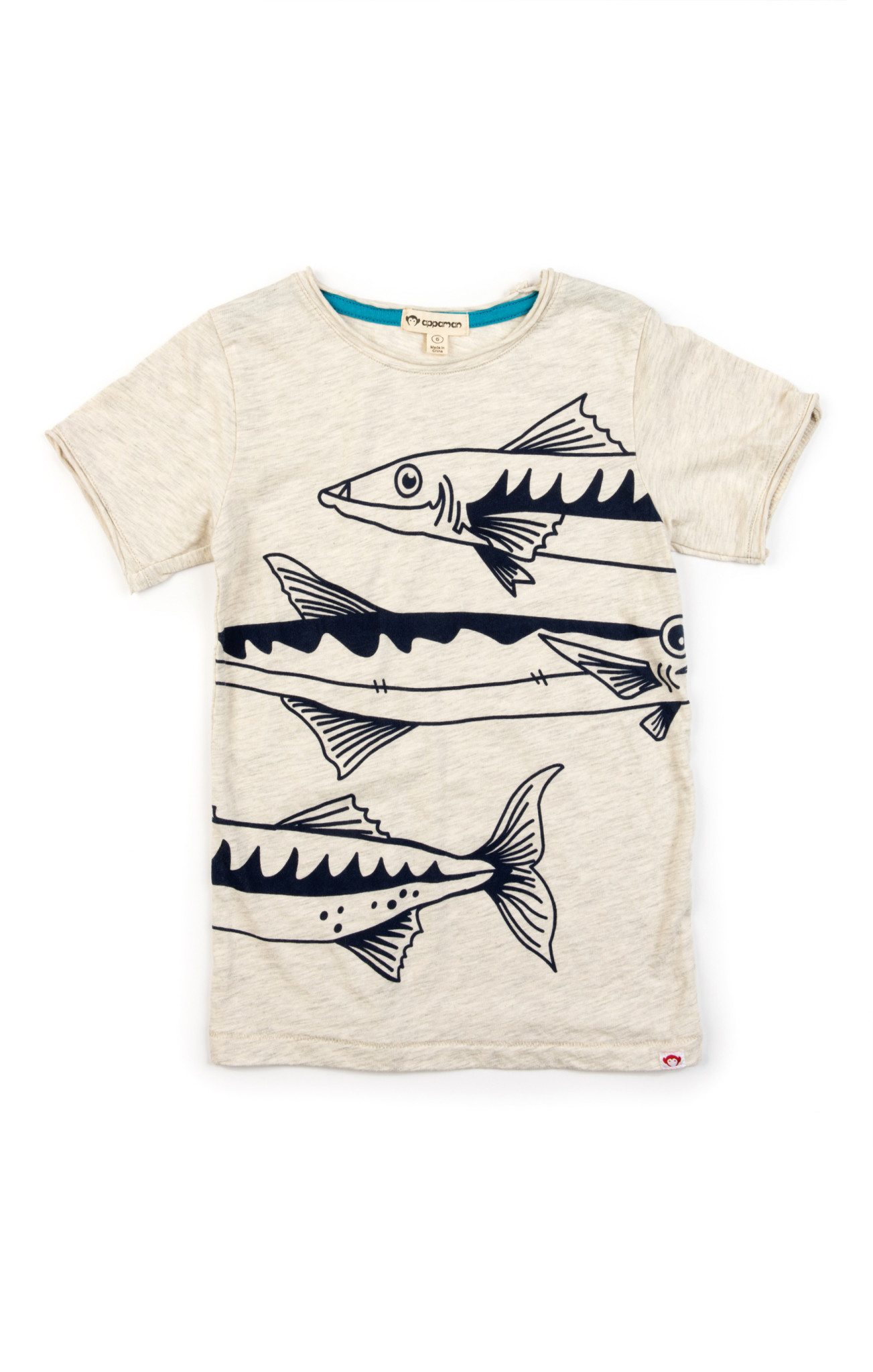 APPAMAN Graphic Short Sleeve Tee Barracuda