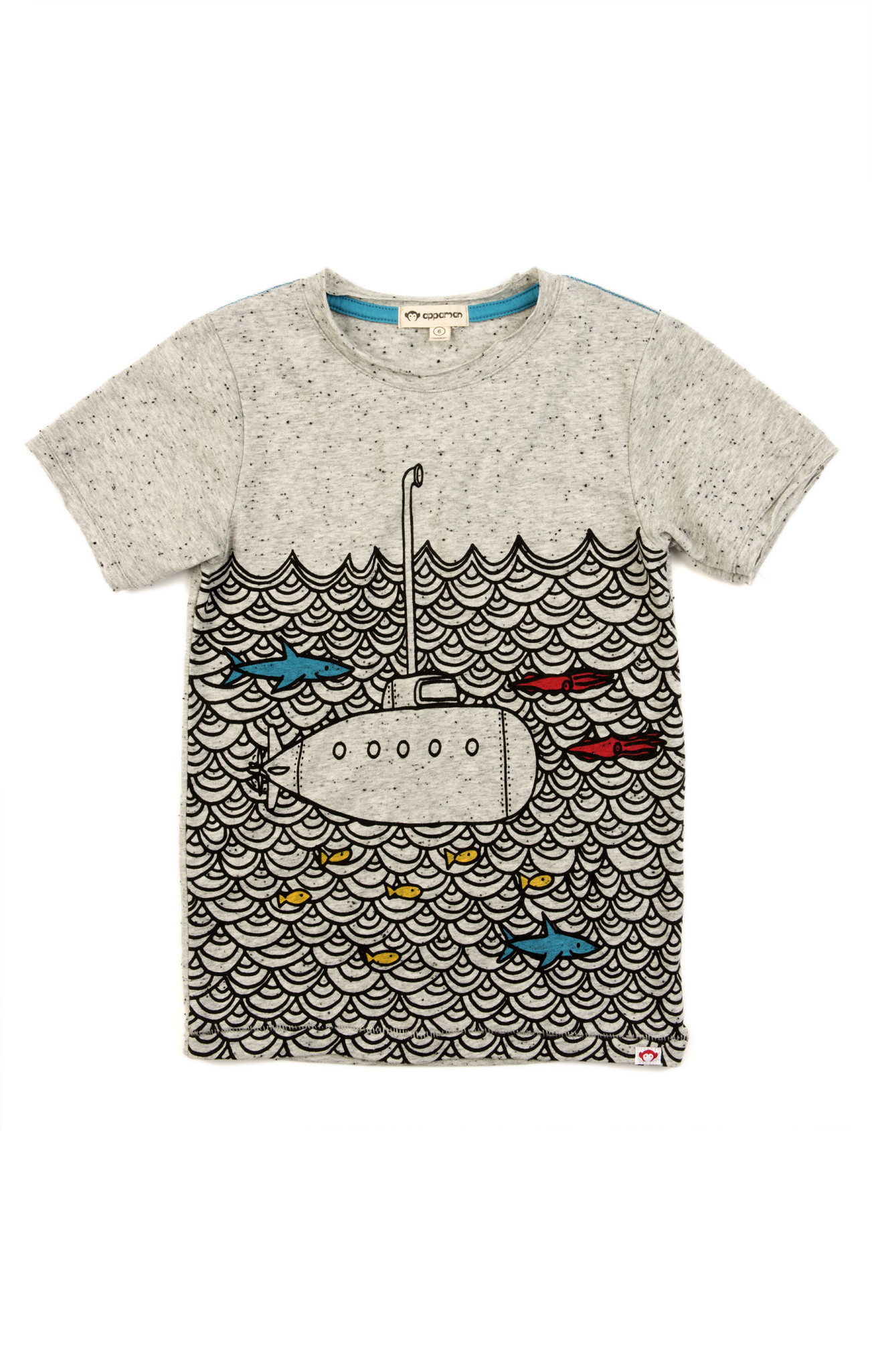 APPAMAN Graphic Short Sleeve Tee Submarine