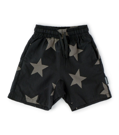 NUNUNU Star Voile Shorts