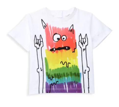 STELLA MCCARTNEY Baby Boy Rock Monster Tee