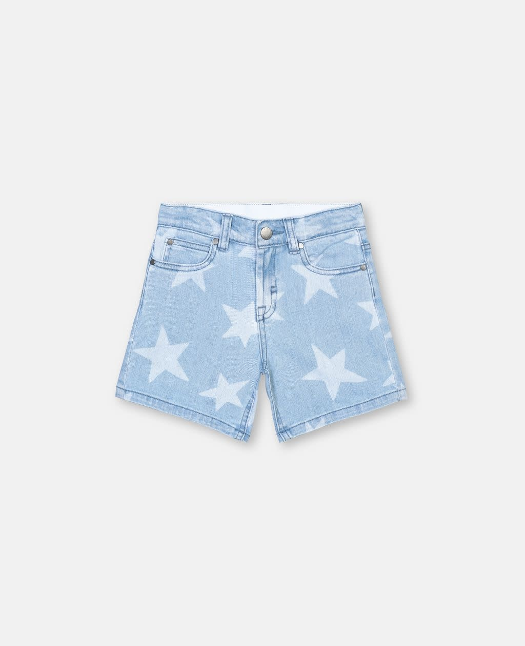 STELLA MCCARTNEY Stars Denim Shorts