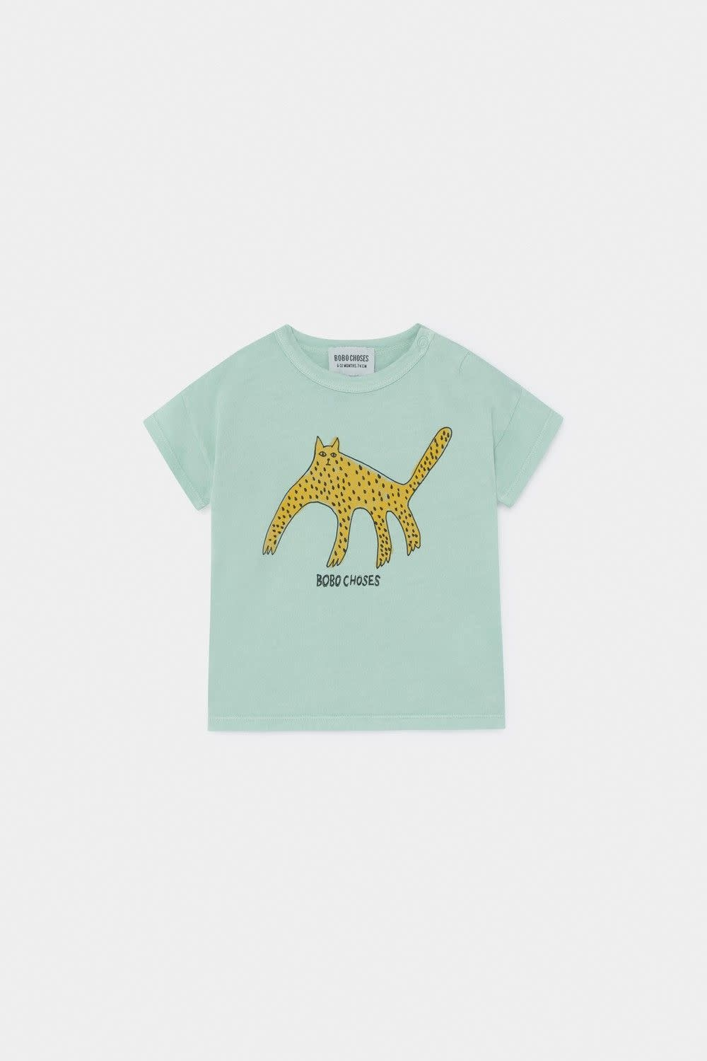 BOBO CHOSES Leopard Tee Shirt