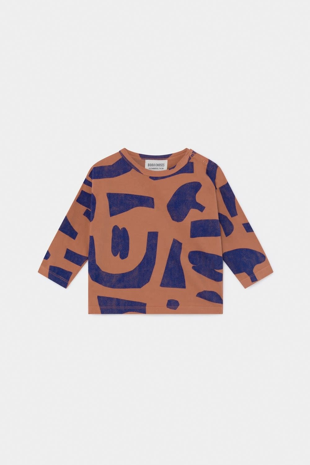 BOBO CHOSES Abstract Long Sleeve Tee Shirt