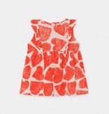 BOBO CHOSES All Over Hearts Ruffle Dress