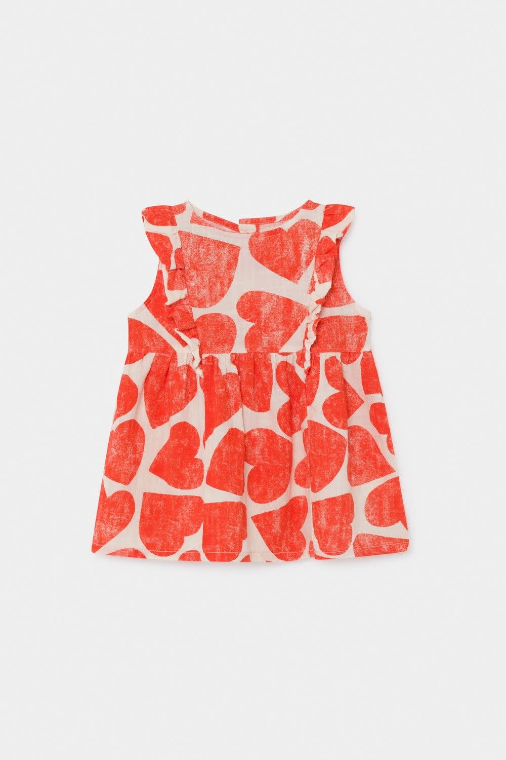 BOBO CHOSES All Over Hearts Ruffle Dress