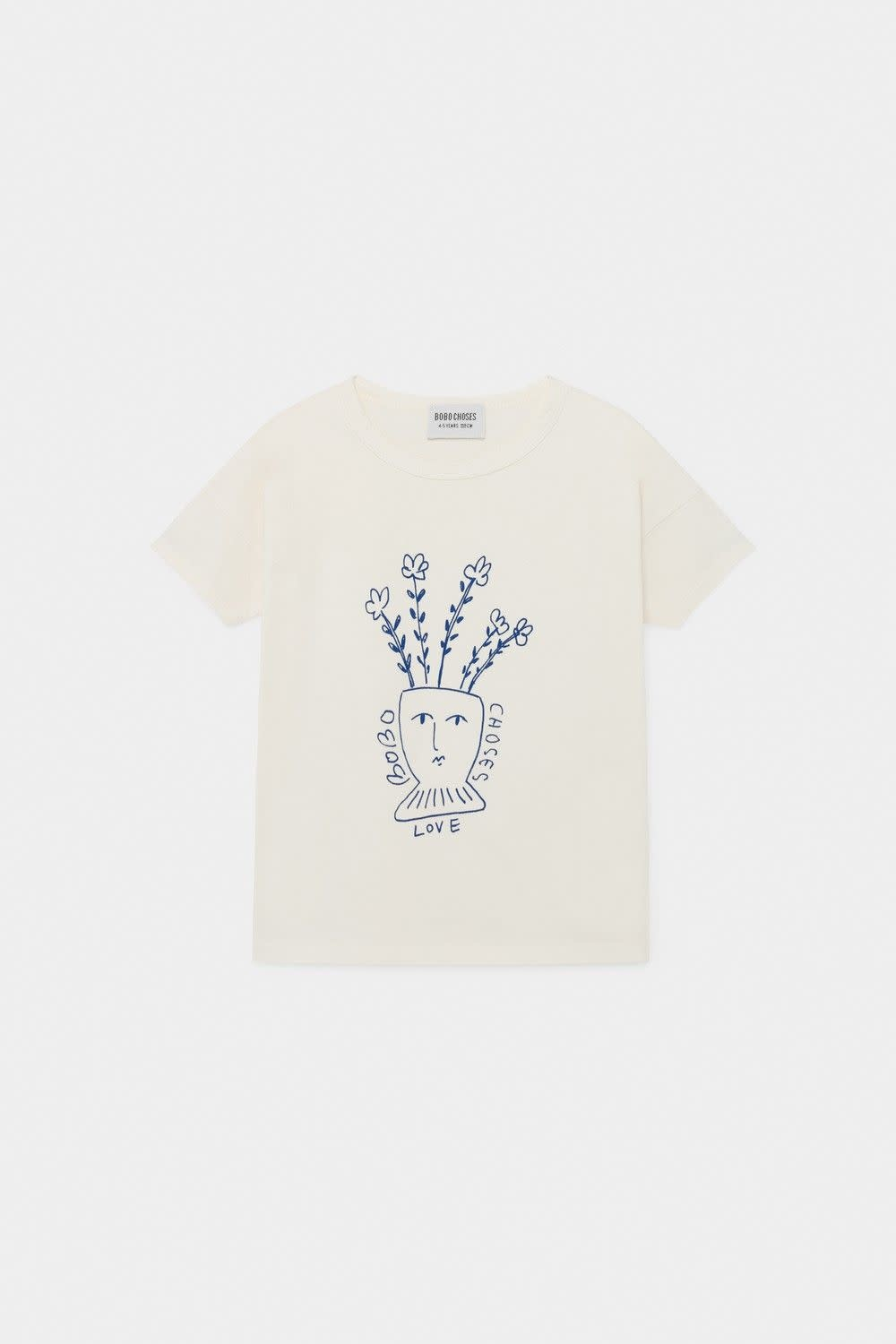BOBO CHOSES Flowers Tee Shirt