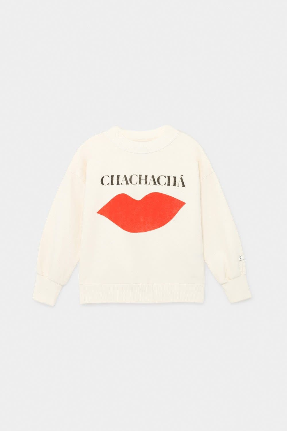 BOBO CHOSES Chachacha Kiss Sweatshirt