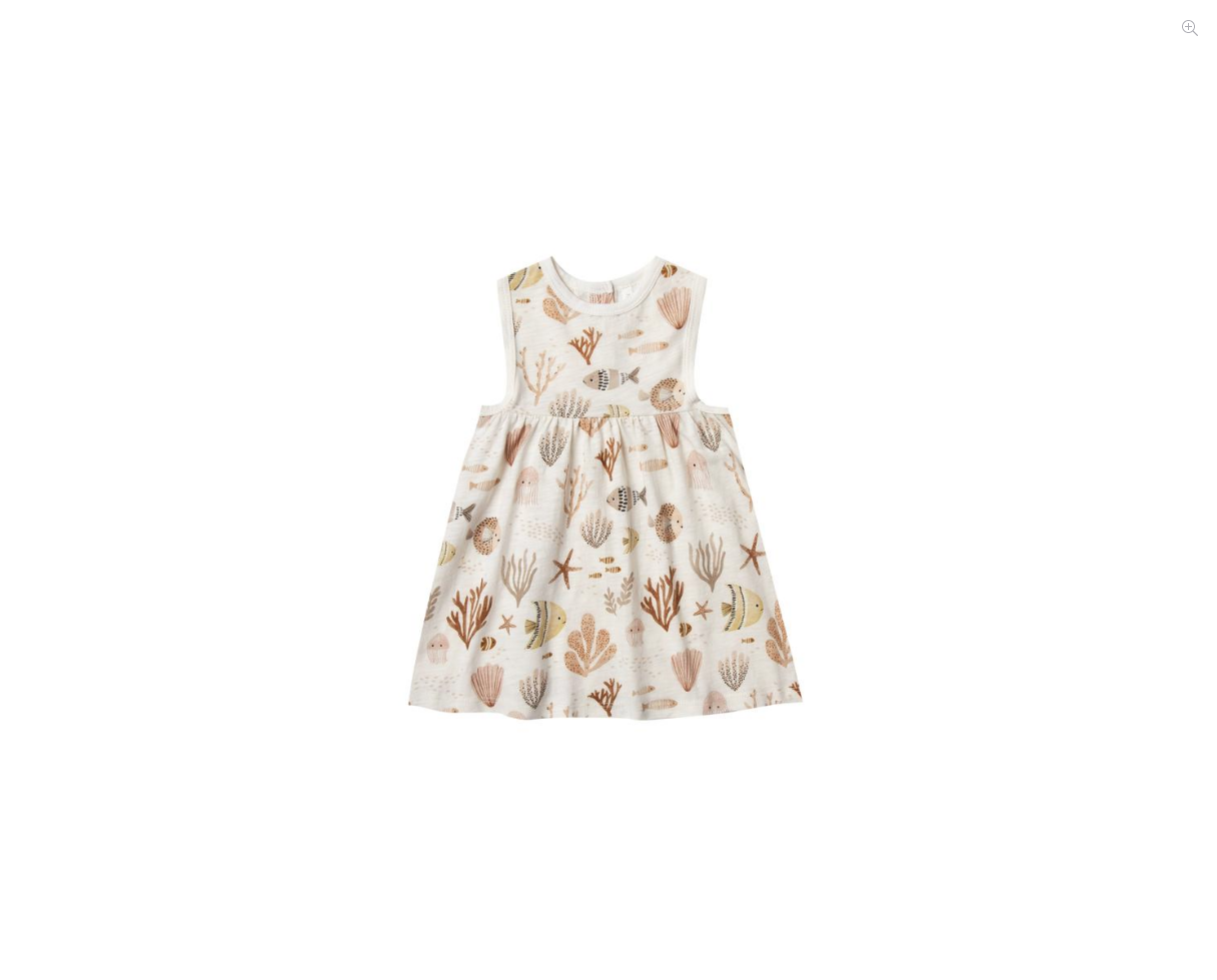 RYLEE AND CRU Sea Life Layla Dress