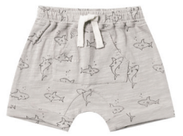 RYLEE AND CRU Shark Front Pouch Short