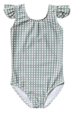 RYLEE AND CRU Gingham Frill Onepiece