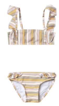 RYLEE AND CRU Stripe Marieta Bikini
