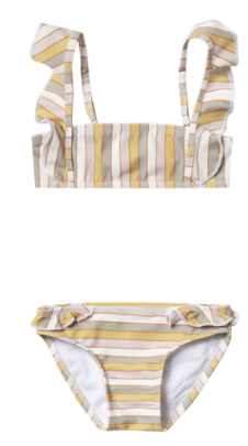 RYLEE AND CRU Stripe Marieta Bikini
