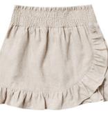 RYLEE AND CRU Ruffle Wrap Skirt