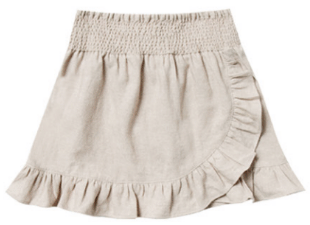 RYLEE AND CRU Ruffle Wrap Skirt