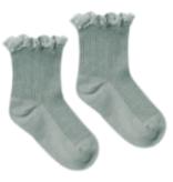 RYLEE AND CRU Lace Trim Socks