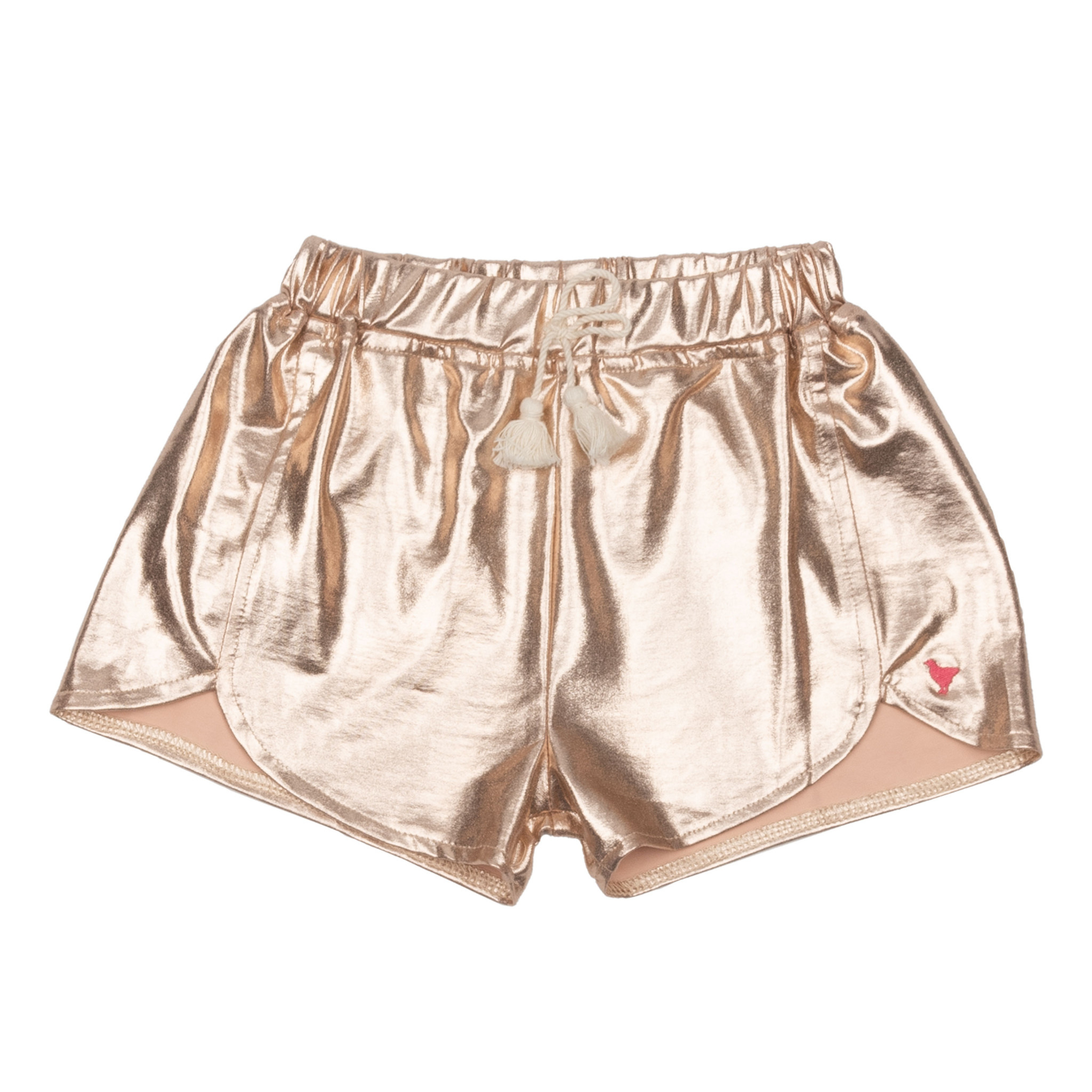 PINK CHICKEN Millie Metallic Short