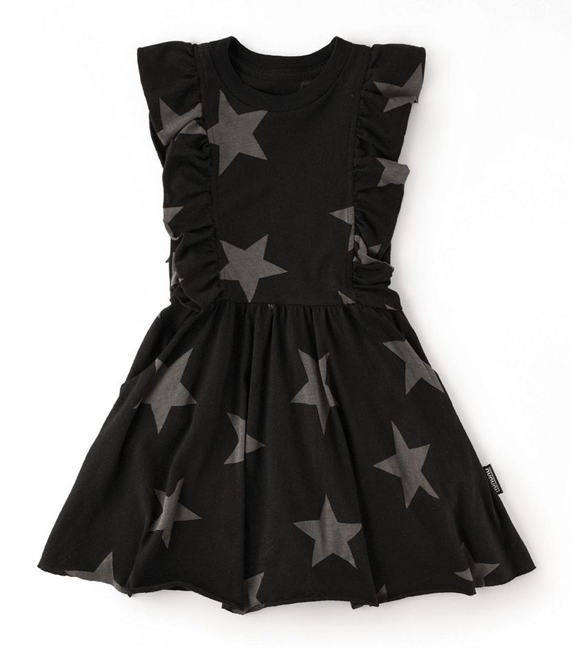 NUNUNU Ruffled Star Dress