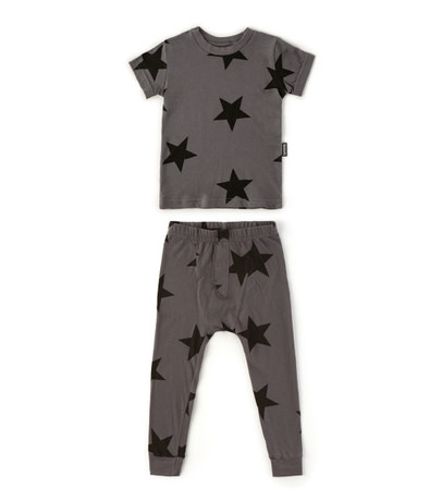 NUNUNU Star Loungewear Set