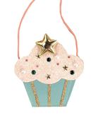 PETITE HAILEY Cupcake Pink Cross Bag