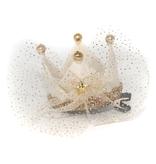 PETITE HAILEY Ivory Crown Hair Clip