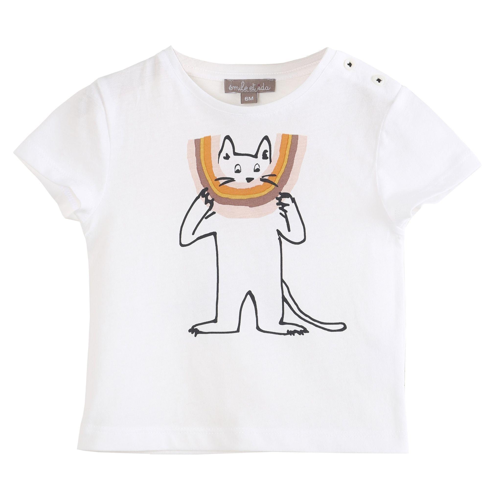 EMILIE ET IDA Printed Tee Shirt