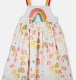 STELLA MCCARTNEY Painted Rainbow Dress