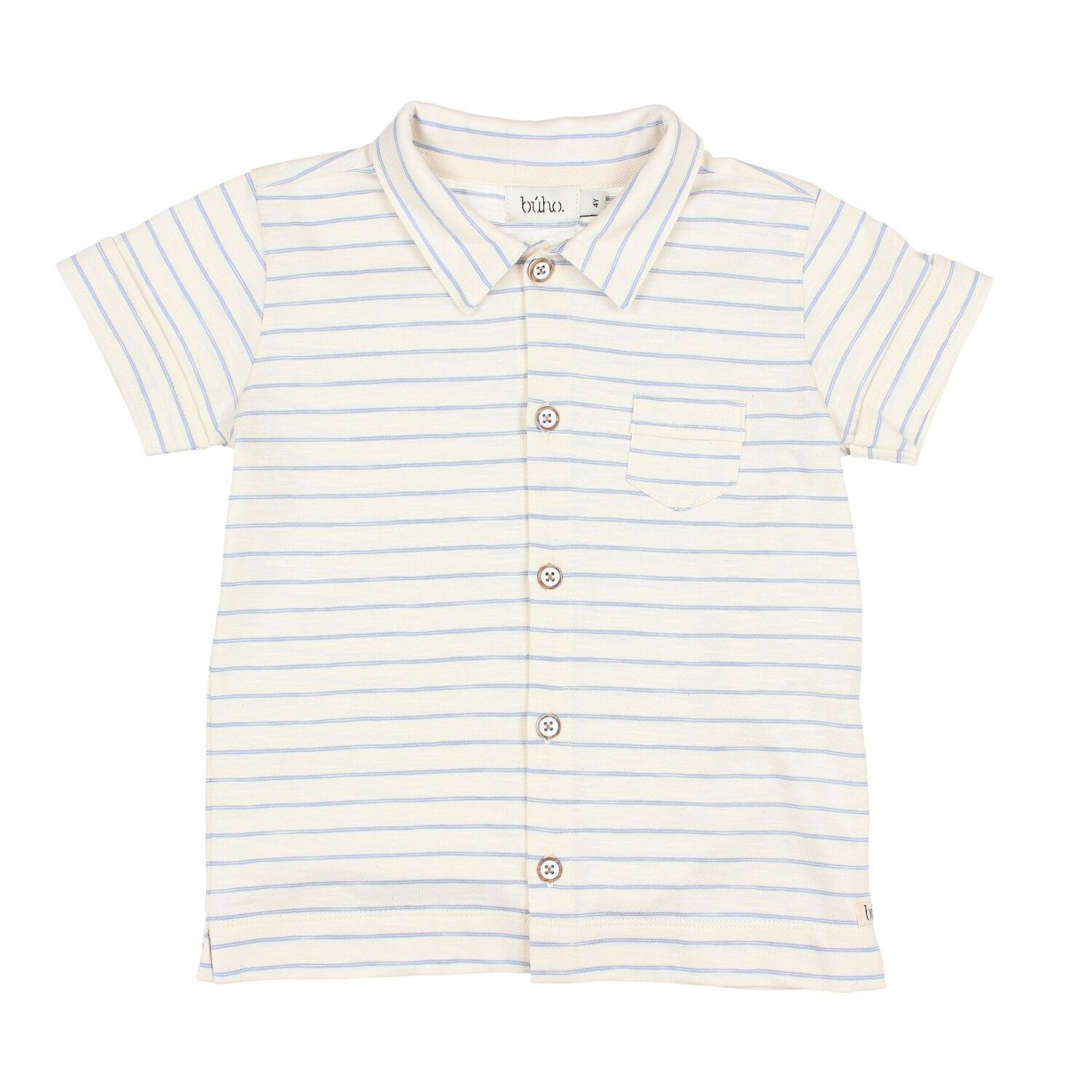 BUHO Jude Stripes Cotton Shirt