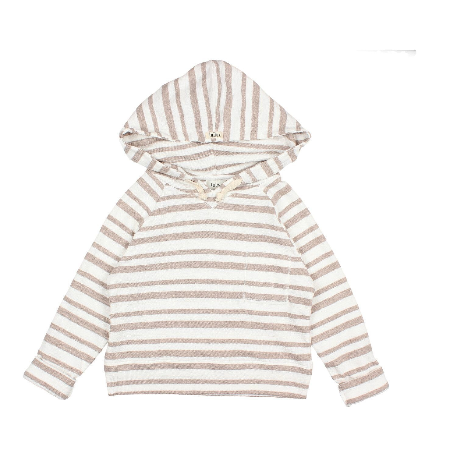 BUHO Edward Stripes Hood Sweater