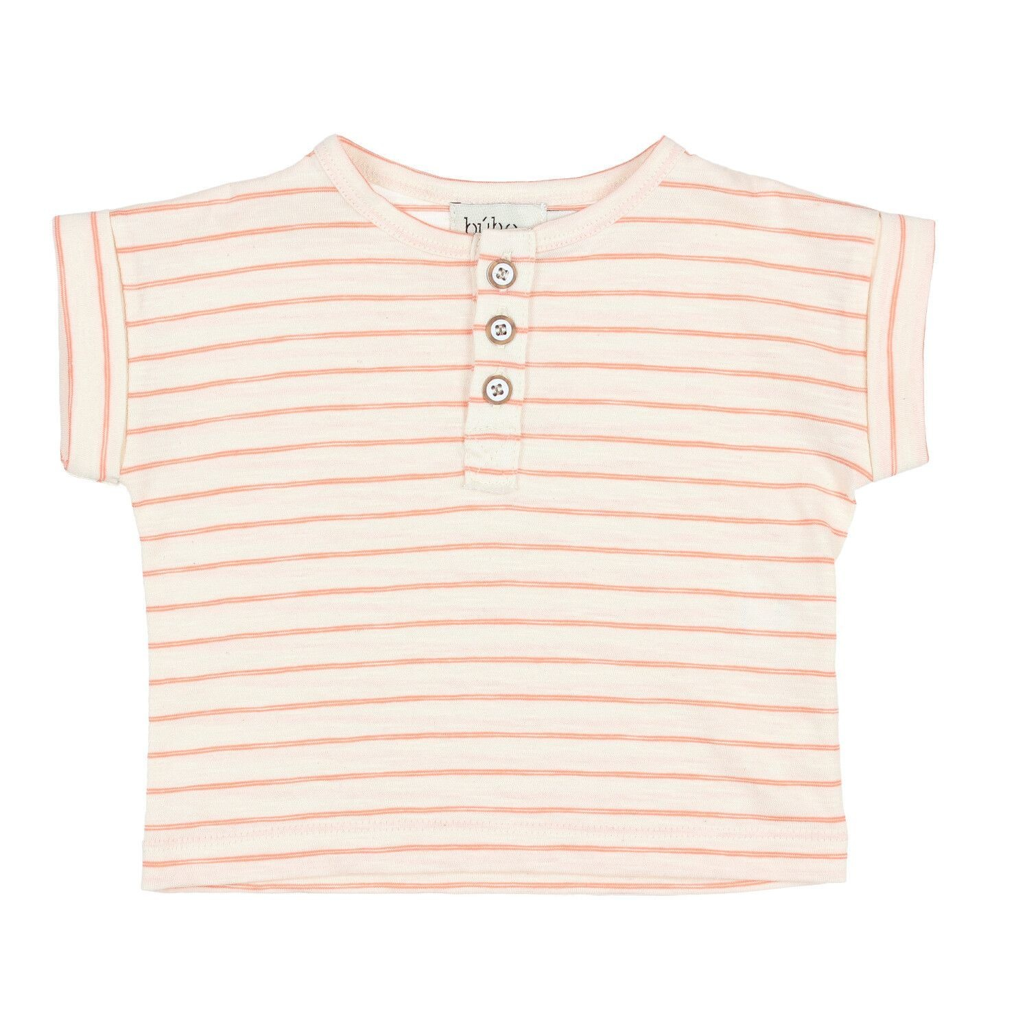 BUHO Joss Stripes Cotton T-shirt