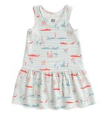 WINTER WATER FACTORY Hippos And Crocodiles Valencia Dress